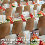 Weddings and social events allowed to resume in Dubai